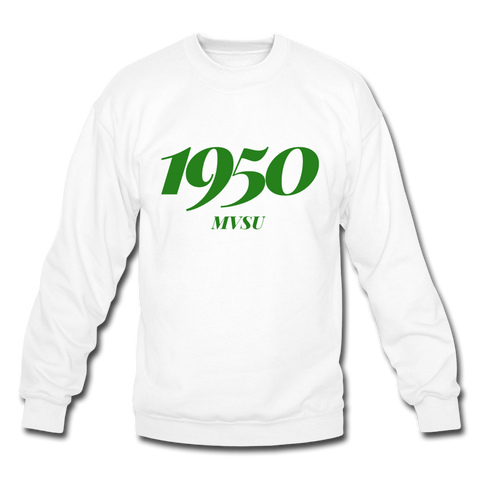 Mississippi Valley State University Rep U Year Crewneck Sweatshirt - white