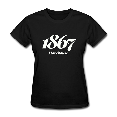 Morehouse College Rep U Year Women's T-Shirt - black