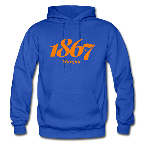 Morgan State University Rep U Year Adult Hoodie - royal blue