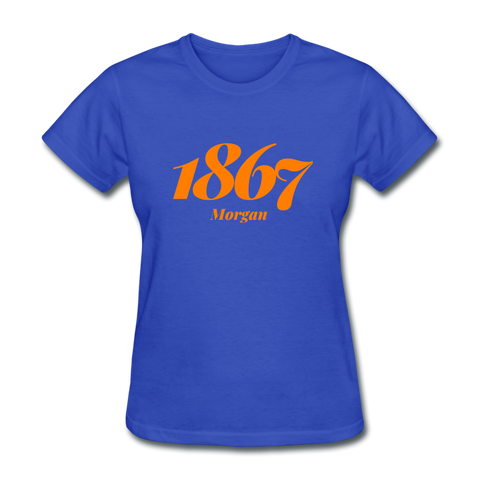 Morgan State University Rep U Year Women's T-Shirt - royal blue