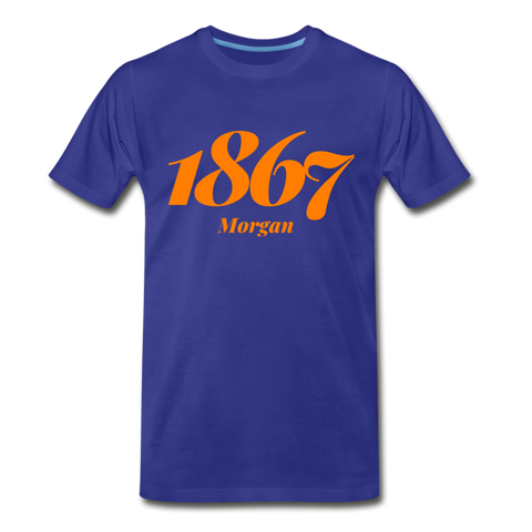 Morgan State University Rep U Year T-Shirt - royal blue