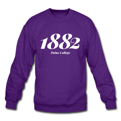 Paine College Rep U Year Crewneck Sweatshirt - purple