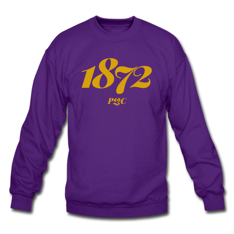 Paul Quinn College Rep U Year Crewneck Sweatshirt - purple