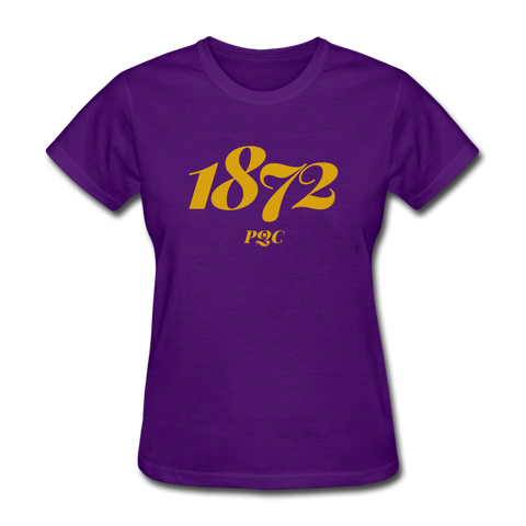 Paul Quinn College Rep U Year Women's T-Shirt - purple