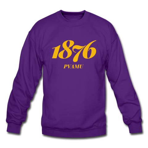 Prairie View A&M University Rep U Year Crewneck Sweatshirt - purple