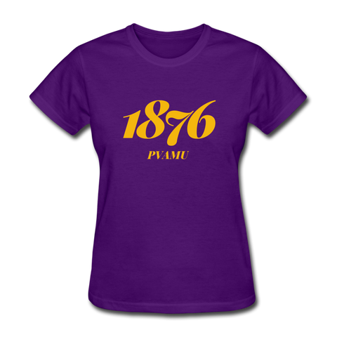 Prairie View A&M University Rep U Year Women's T-Shirt - purple
