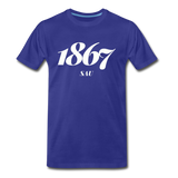 Saint Augustine's University Rep U Year T-Shirt - royal blue