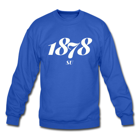 Selma University Rep U Year Crewneck Sweatshirt - royal blue