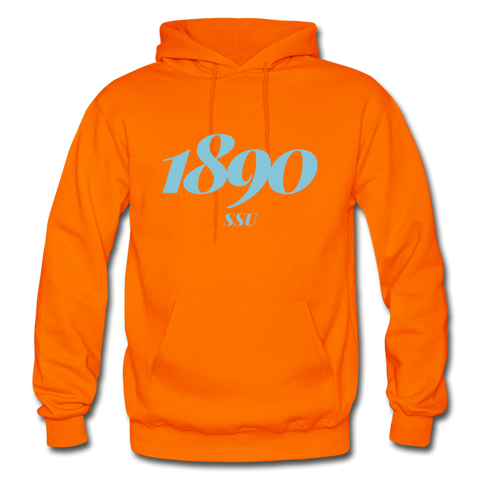 Savannah State University Rep U Year Adult Hoodie - orange