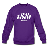 Spelman College Rep U Year Crewneck Sweatshirt - purple