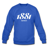 Spelman College Rep U Year Crewneck Sweatshirt - royal blue