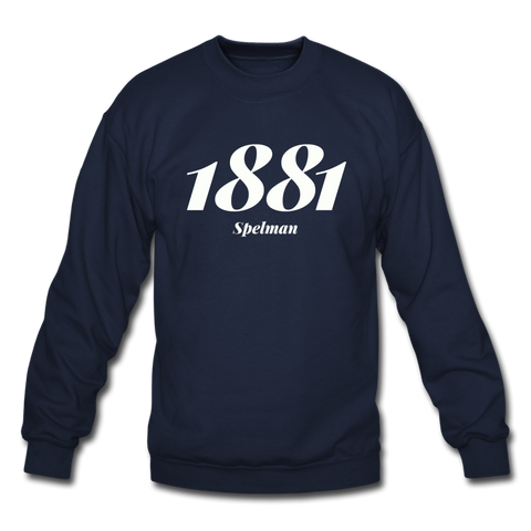 Spelman College Rep U Year Crewneck Sweatshirt - navy