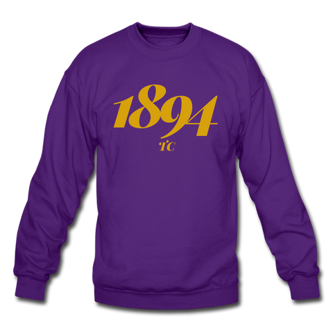 Texas College Rep U Year Crewneck Sweatshirt - purple