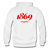 Tougaloo College Rep U Year Adult Hoodie - white