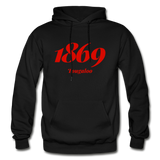 Tougaloo College Rep U Year Adult Hoodie - black