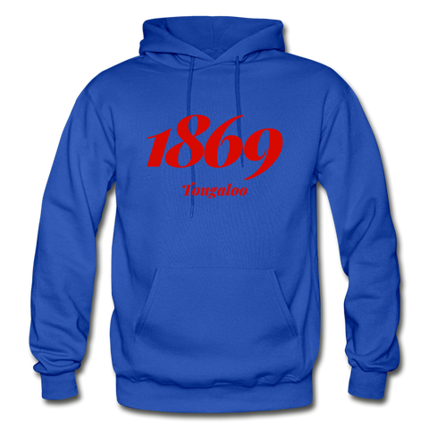 Tougaloo College Rep U Year Adult Hoodie - royal blue