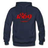 Tougaloo College Rep U Year Adult Hoodie - navy
