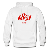 University of the District of Columbia (UDC) Rep U Year Adult Hoodie - white