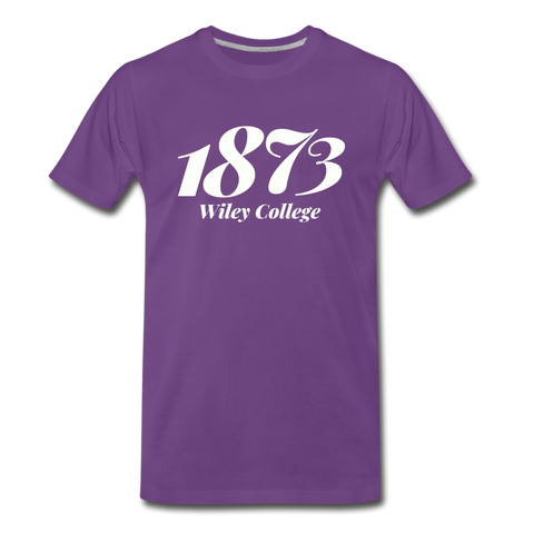 Wiley College Rep U Year T-Shirt - purple