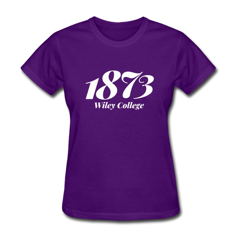 Wiley College Rep U Year Women's T-Shirt - purple