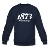 Wiley College Rep U Year Crewneck Sweatshirt - navy
