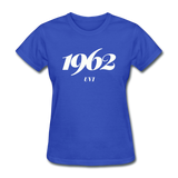 University of the Virgin Islands (UVI) Rep U Year Women's T-Shirt - royal blue