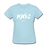 University of the Virgin Islands (UVI) Rep U Year Women's T-Shirt - powder blue