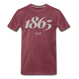 Virginia Union University (VUU) Rep U Year T-Shirt - heather burgundy