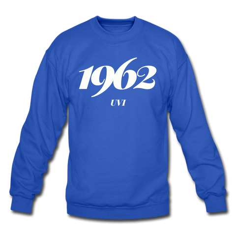 University of the Virgin Islands (UVI) Rep U Year Crewneck Sweatshirt - royal blue