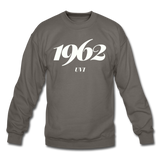 University of the Virgin Islands (UVI) Rep U Year Crewneck Sweatshirt - asphalt gray
