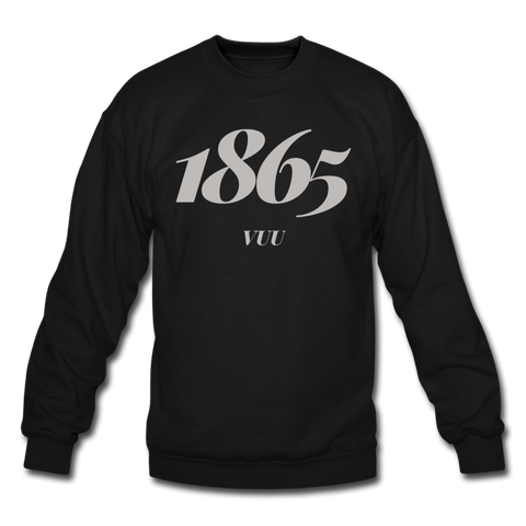 Virginia Union University (VUU) Rep U Year Crewneck Sweatshirt - black