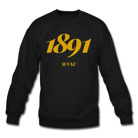 West Virginia State University (WVSU) Rep U Year Crewneck Sweatshirt - black