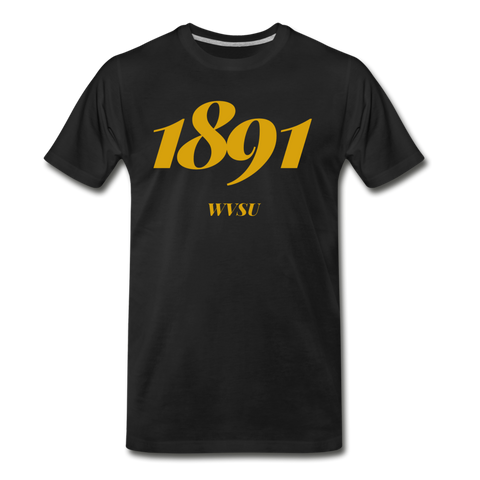 West Virginia State University (WVSU) Rep U Year T-Shirt - black
