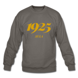 Xavier University of Louisiana (XULA) Rep U Year Crewneck Sweatshirt - asphalt gray