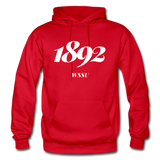 Winston-Salem State University (WSSU) Rep U Year Adult Hoodie - red