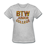 Booker T. Washington Junior College Rep U Heritage Women's T-Shirt - heather gray
