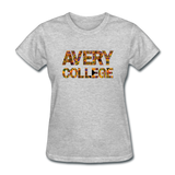 Avery College Rep U Heritage Women's T-Shirt - heather gray