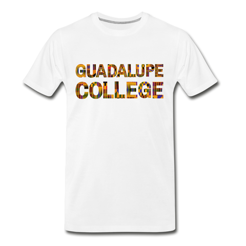 Guadalupe College Rep U Heritage T-Shirt - white