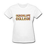 Guadalupe College Rep U Heritage Women's T-Shirt - white