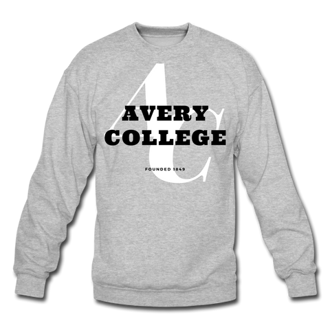 Avery College Classic HBCU Rep U Crewneck Sweatshirt - heather gray