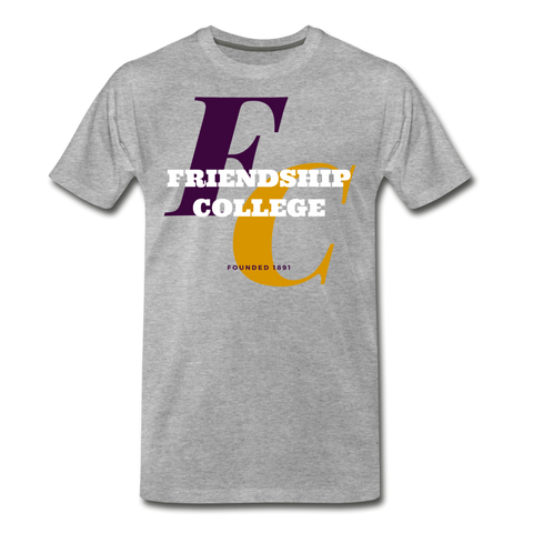 Friendship College Classic HBCU Rep U T-Shirt - heather gray