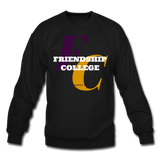 Friendship College Classic HBCU Rep U Crewneck Sweatshirt - black