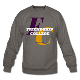 Friendship College Classic HBCU Rep U Crewneck Sweatshirt - asphalt gray