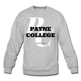Payne College Classic HBCU Rep U Crewneck Sweatshirt - heather gray