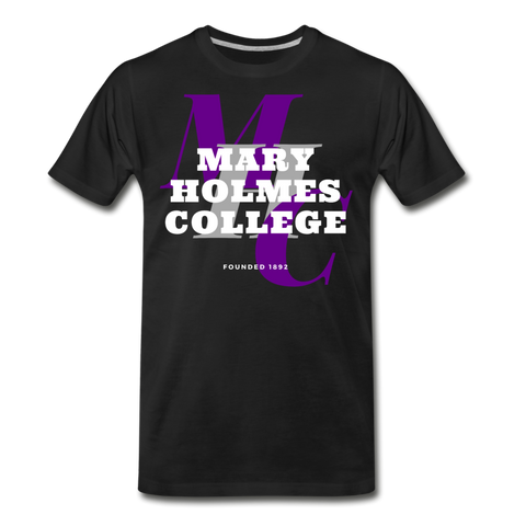 Mary Holmes College Classic HBCU Rep U T-Shirt - black