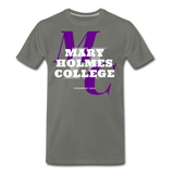 Mary Holmes College Classic HBCU Rep U T-Shirt - asphalt gray
