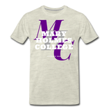 Mary Holmes College Classic HBCU Rep U T-Shirt - heather oatmeal