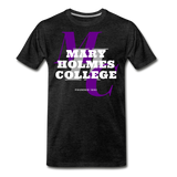Mary Holmes College Classic HBCU Rep U T-Shirt - charcoal gray