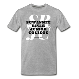 Suwanee River Junior College Classic HBCU Rep U T-Shirt - heather gray