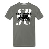 Suwanee River Junior College Classic HBCU Rep U T-Shirt - asphalt gray